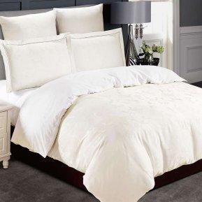 «21/004-TJ» двуспальное с европростыней постельное белье, Тенсел, Cleo