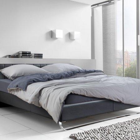 Постельное белье «Серебристый камень» ЕВРО, Трикотаж, Текс-Дизайн