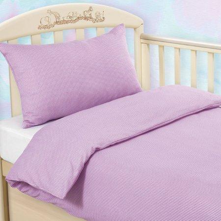 «Клетка (сир.)» дет. кроватка на резинке постельное белье, ТРИКОТАЖ, Текс-Дизайн