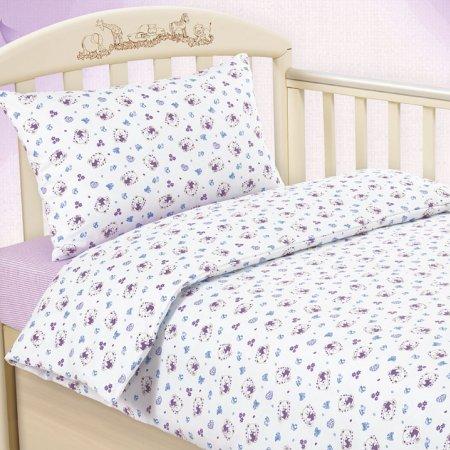 «Любимый мишка (сир.)» дет. кроватка на резинке постельное белье, ТРИКОТАЖ, Текс-Дизайн