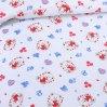 «Любимый мишка (красный)» дет. кроватка на резинке постельное белье, ТРИКОТАЖ, Текс-Дизайн