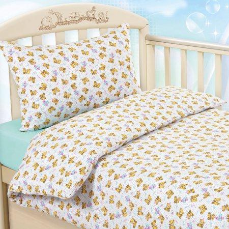 «Праздник №2» дет. кроватка на резинке постельное белье, ТРИКОТАЖ, Текс-Дизайн
