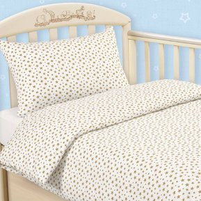 Звездочки дет. кроватка на резинке