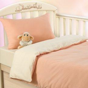 Нежный персик дет. кроватка