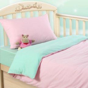 Розовая свежесть дет. кроватка