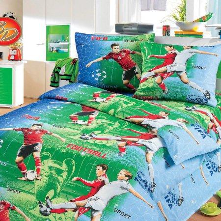 «52/011-bd» 1,5 - спальное постельное белье, Бязь, Cleo