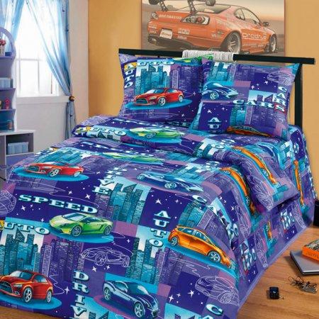 «52/012-bd» 1,5 - спальное постельное белье, Бязь, Cleo