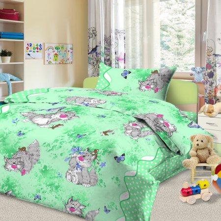 «52/026-bd» 1,5 - спальное постельное белье, Бязь, Cleo