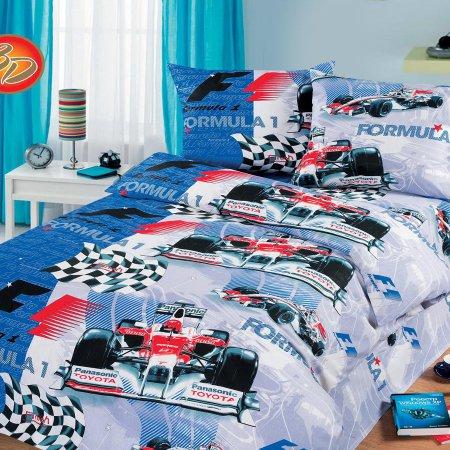 «52/005-bd» 1,5 - спальное постельное белье, Бязь, Cleo