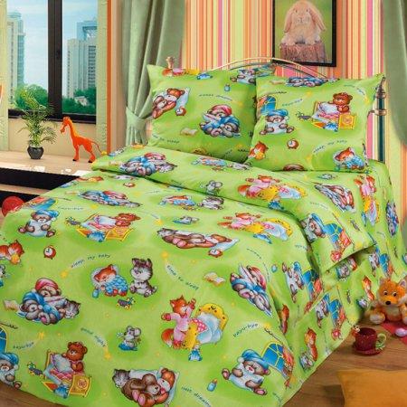 «52/007-bd» 1,5 - спальное постельное белье, Бязь, Cleo