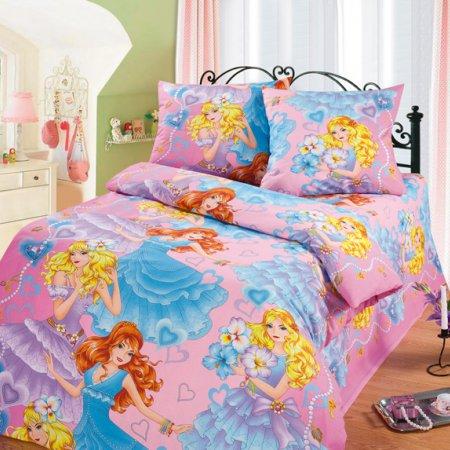 «52/008-bd» 1,5 - спальное постельное белье, Бязь, Cleo