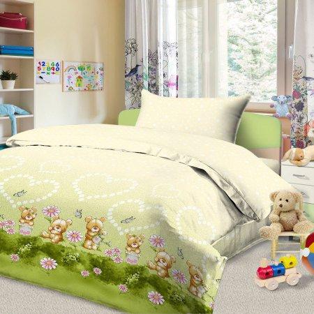 «56/023-ba» дет. кроватка постельное белье, Бязь, Cleo