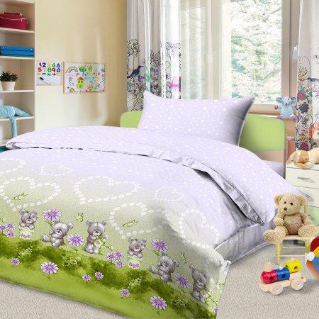 «56/024-ba» дет. кроватка постельное белье, Бязь, Cleo
