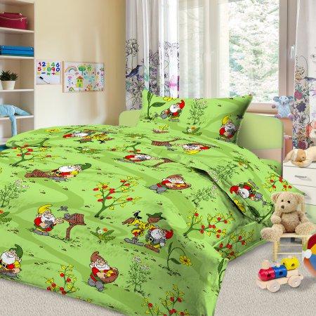 «56/028-ba» дет. кроватка постельное белье, Бязь, Cleo