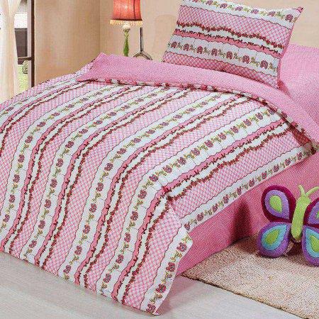 «55/06-ba» дет. кроватка постельное белье, Сатин, Cleo