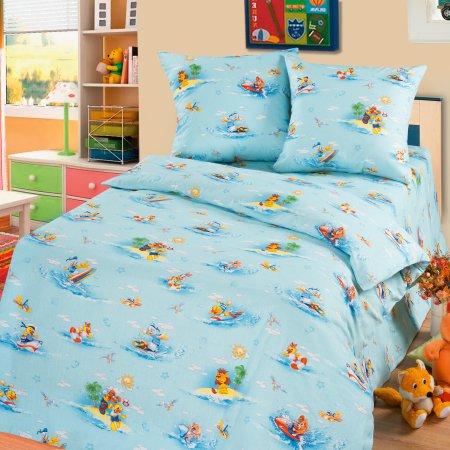 «56/016-ba» дет. кроватка постельное белье, Бязь, Cleo