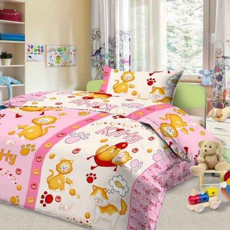 «56/020-ba» дет. кроватка постельное белье, Бязь, Cleo