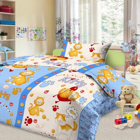 «56/021-ba» дет. кроватка постельное белье, Бязь, Cleo
