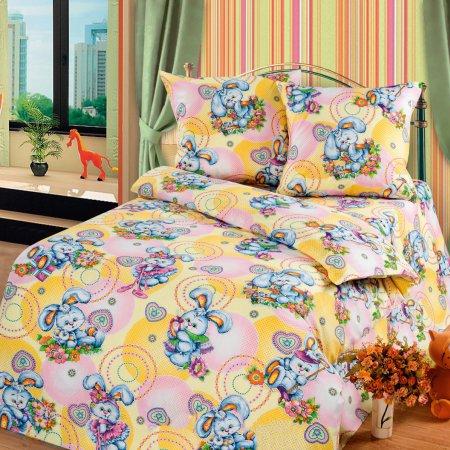 «56/014-ba» дет. кроватка постельное белье, Бязь, Cleo