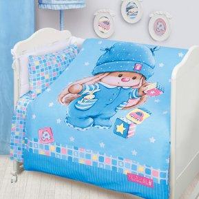 Зайка Ми с кубиками дет. кроватка