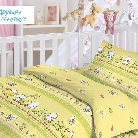 «Друзья» дет. кроватка постельное белье, Бязь, НордТекс