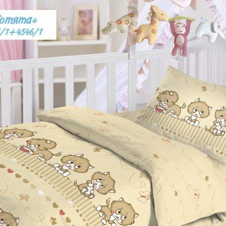 «Котята» дет. кроватка постельное белье, Бязь, НордТекс