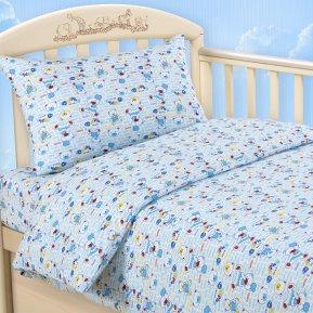 «Топтыжка гол» дет. кроватка постельное белье, Трикотаж, Текс-Дизайн