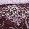 Постельное белье «Гранд 4 бордо» двуспальное с европростыней, Бязь, Текс-Дизайн