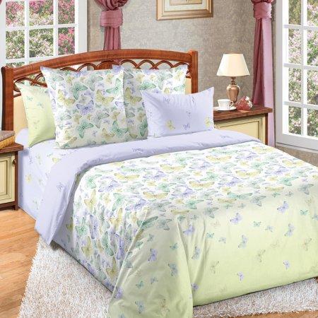 Постельное белье «Мон Амур» двуспальное с европростыней, Бязь, Текс-Дизайн