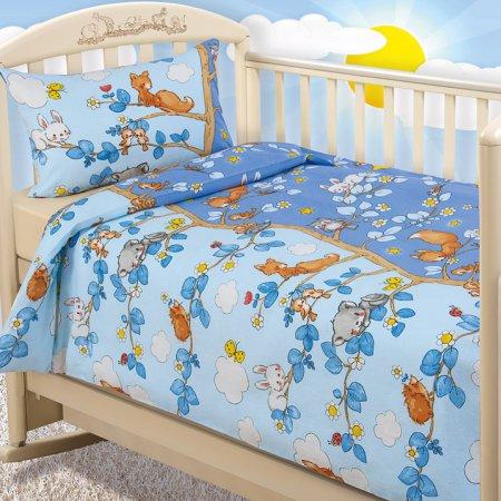 «День и ночь» дет. кроватка постельное белье, Бязь, Текс-Дизайн