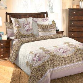 «Мон Шер 3 фиол» двуспальное постельное белье, Бязь, Текс-Дизайн