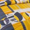 Постельное белье «Голландия 1 оранж.» семейное, Бязь, Текс-Дизайн