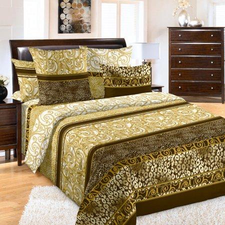 Постельное белье «Золото скифов» двуспальное с европростыней, Бязь, Текс-Дизайн