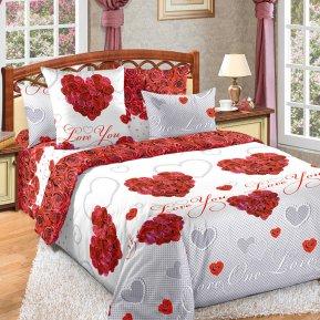 «Вечная любовь» семейное постельное белье, Бязь, Текс-Дизайн