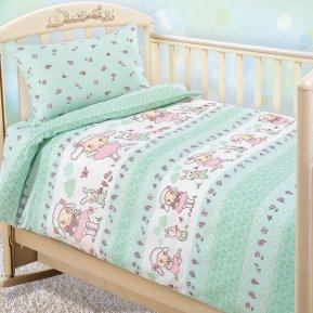 «Овечка» дет. кроватка постельное белье, Бязь, Текс-Дизайн