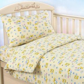 «Мой друг желт» дет. кроватка постельное белье, Трикотаж, Текс-Дизайн