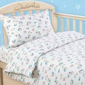 «Умка» дет. кроватка постельное белье, Трикотаж, Текс-Дизайн