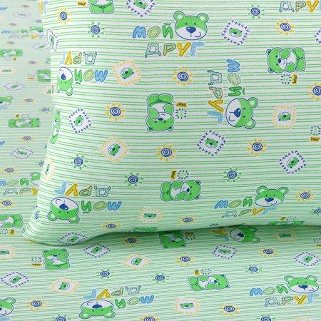 «Мой друг зел» дет. кроватка постельное белье, Трикотаж, Текс-Дизайн