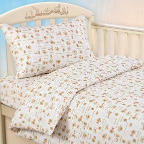 Постельное белье Малыш роз дет. кроватка