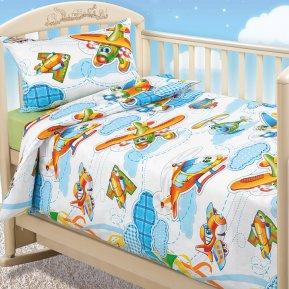 «От винта!» дет. кроватка постельное белье, Бязь, Текс-Дизайн