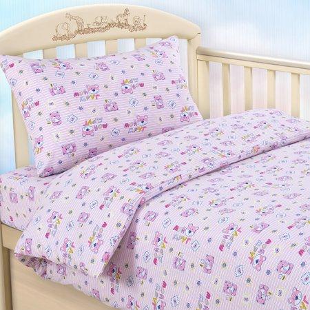 «Мой друг роз» дет. кроватка постельное белье, Трикотаж, Текс-Дизайн