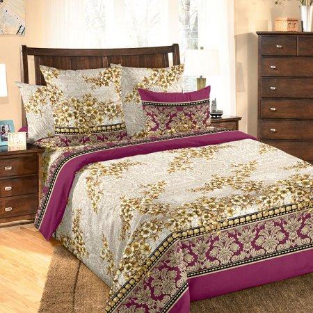 Постельное белье «Фреска» двуспальное с европростыней, Бязь, Текс-Дизайн