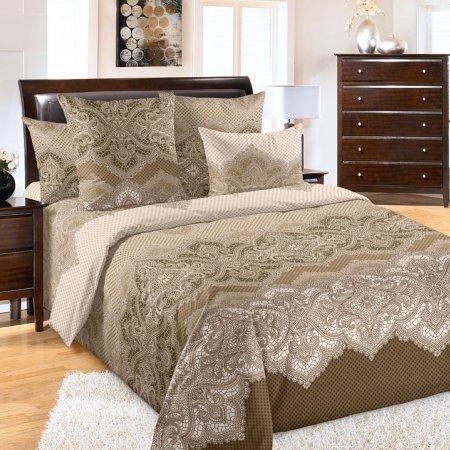 Постельное белье «Полонез» двуспальное с европростыней, Бязь, Текс-Дизайн