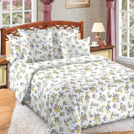 Постельное белье «Мильфлер» двуспальное с европростыней, Бязь, Текс-Дизайн