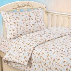 «Малыш гол» дет. кроватка постельное белье, Трикотаж, Текс-Дизайн