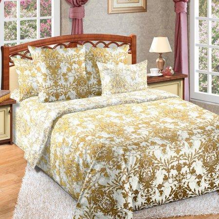 Постельное белье «Жаккард 1» двуспальное с европростыней, Бязь, Текс-Дизайн