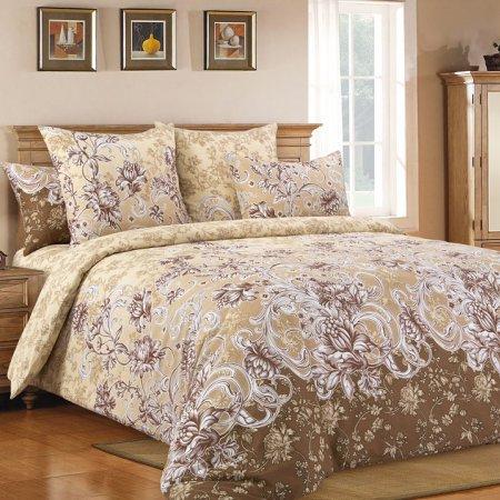 Постельное белье «Флорианна 4 кор.» двуспальное с европростыней, Бязь, Текс-Дизайн
