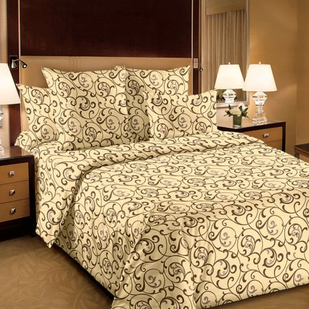 Постельное белье «Вензель 4 шамп.» двуспальное, Бязь, Текс-Дизайн