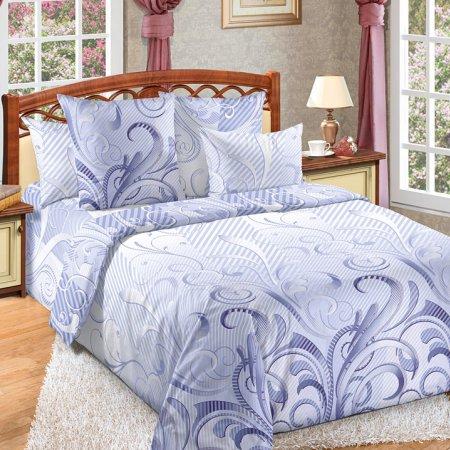 Постельное белье «Фьюжн» двуспальное с европростыней, Бязь, Текс-Дизайн
