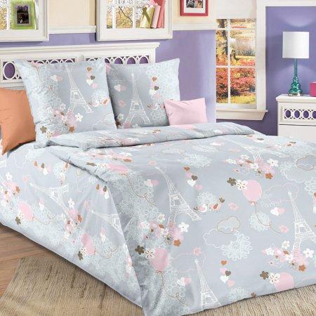 Постельное белье «Романтика» 1,5 - спальное, Бязь, Текс-Дизайн